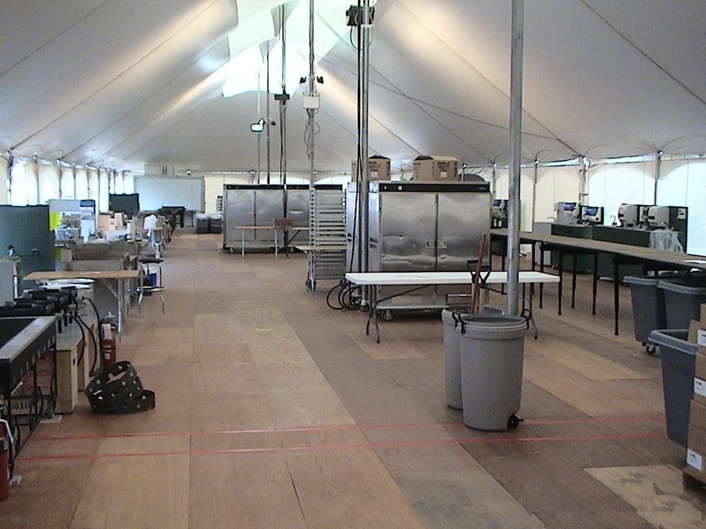 WSSL Emergency Relief Kitchen Tent ... & Warner Shelter Systems Disaster Relief Tents Emergency Tents ...