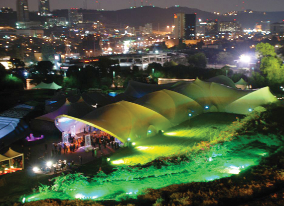 WSSL Arabesque Tents and Joining System Fabric Structure
