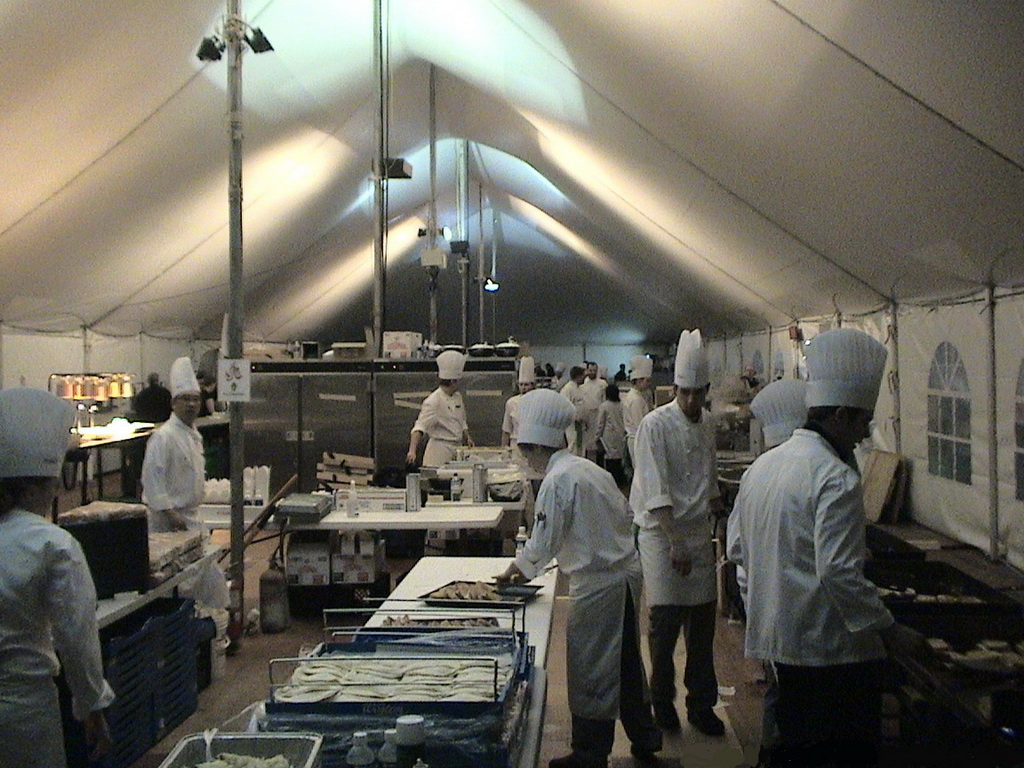 WSSL Military Field Kitchen & WSSL Military Emergency Disaster relief tents for sale - Photo ...