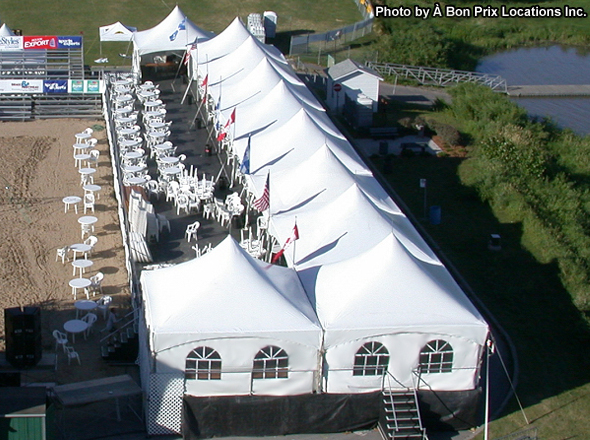 Warner Marquee by WSSL Commercial Tent Photo courtesy of ABP Location.   & WSSL Commercial Tents used for Warner Shelter Corp. Plant BC and ...