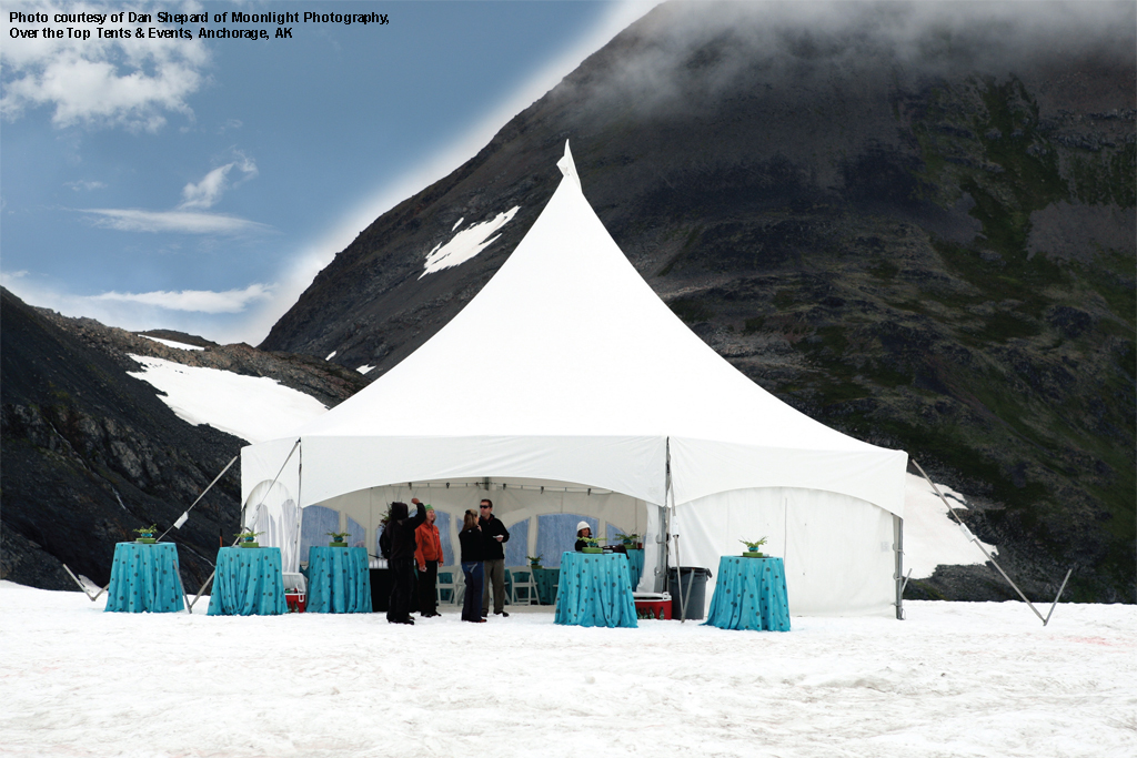 WSSL MQ34HEX Chugach National Forest Alaska & Warner shelter Systems Limited. Branded Logo tents for your events ...