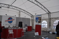 WSSL Modular Clearspan Exhibition Tent