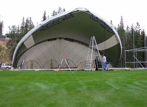 ... WSSL Arabesque Stage Cover Tent model SA56 stage cover tent being setup for a ...  sc 1 st  Warner Shelter Systems Limited & Warner Shelter Systems Limited (WSSL)- World favored Manufacturer ...