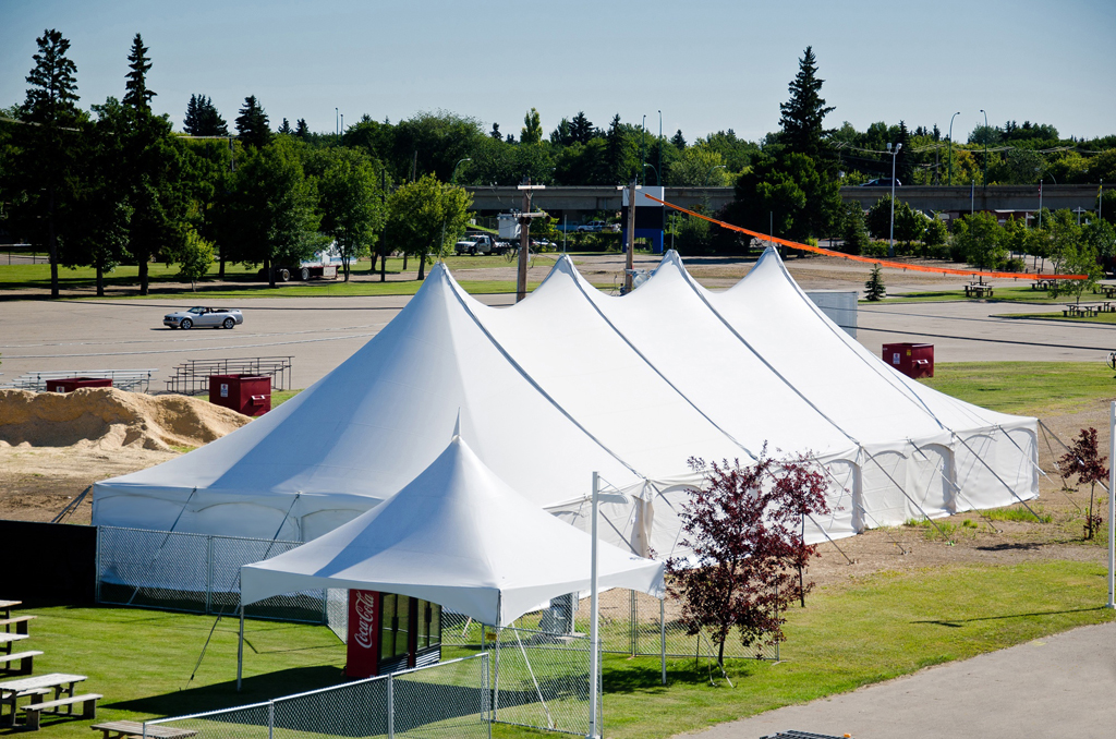 ... WSSL Peak Pole Tent PPT 40u0027 Wide Courtesy of Handy Special Events & Warner shelter Systems Limited. Branded Logo tents for your events ...