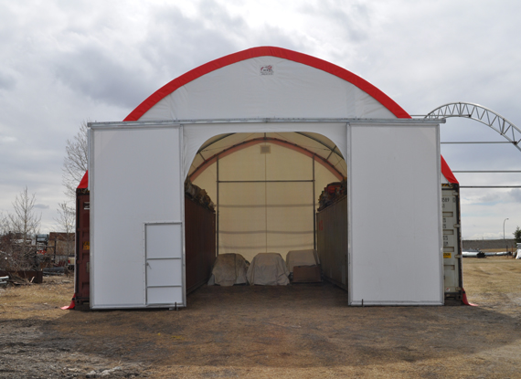 WSSL Military Portable Barracks WSSL Military Barracks WSSL Tent-C-Can Disaster Relief Bulk Storage Tent & Warner Shelter Systems Disaster Relief Tents Emergency Tents ...