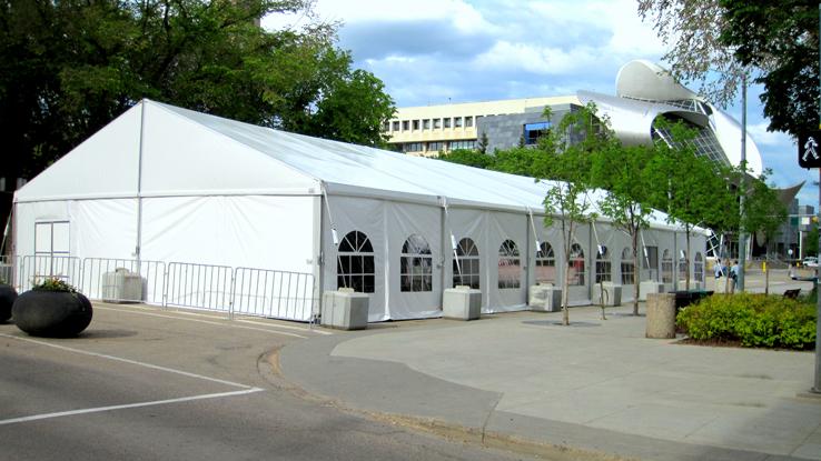 Warner Shelter Systems Limited Branded Logo Tents For