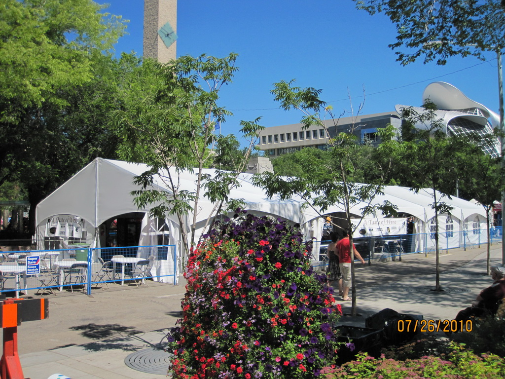 Tent-X-Span Commercial Fabric Structure & WSSL Commercial Tents used for Warner Shelter Corp. Plant BC and ...